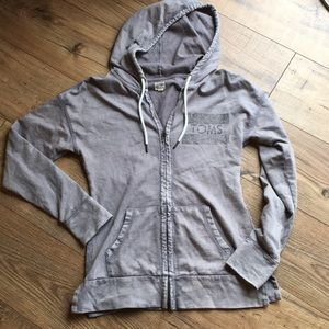 Toms hoodie. Size small. Loose fit.